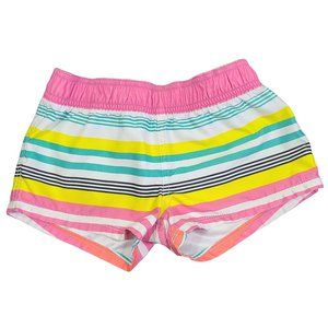 ☘️3/$30☘️ ROXY GIRL Multi Colored Striped Shorts 8